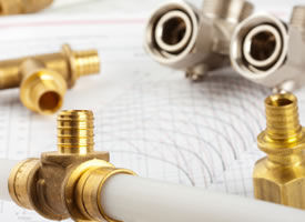 Pipes and fittings for replacing and repairing plumbing